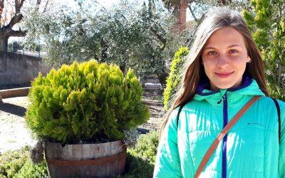 ELISABET GIRAL, jove cornudellenca