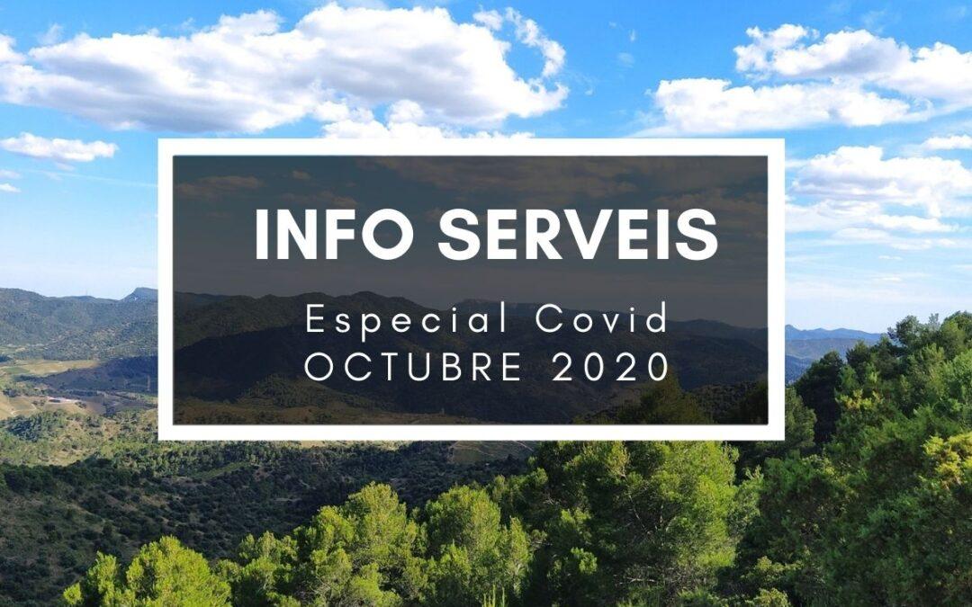 Informació de serveis – Noves mesures Covid octubre 2020