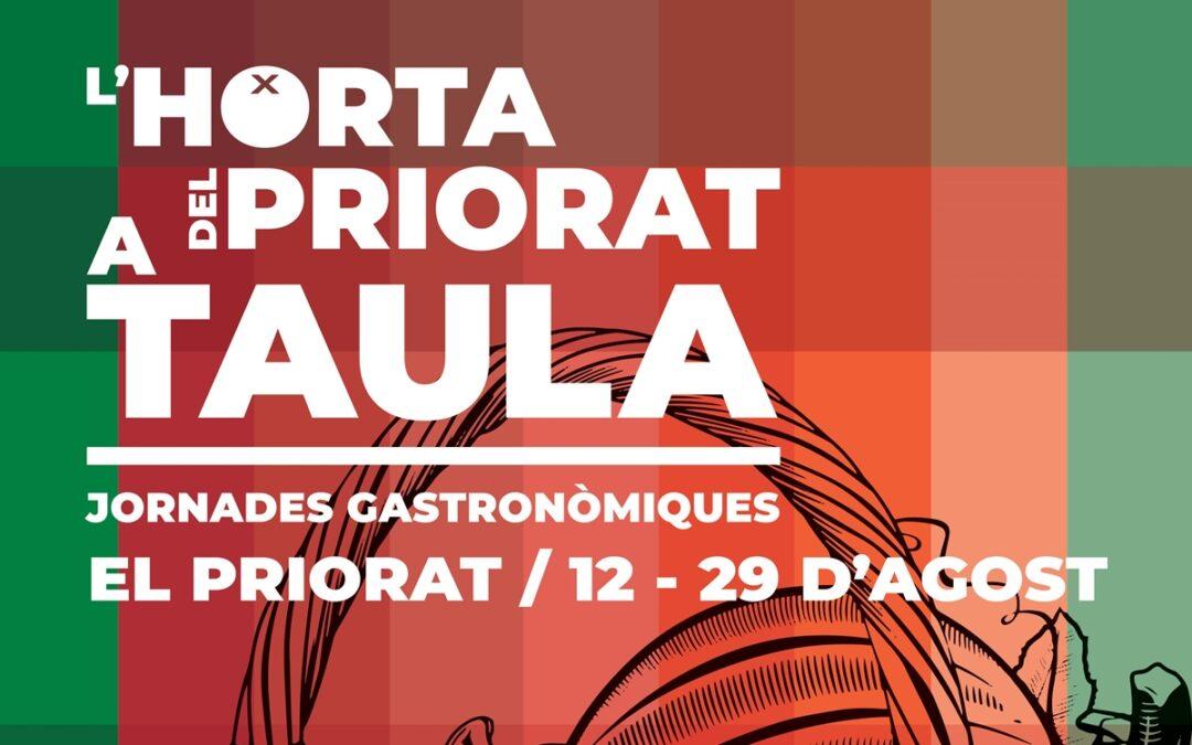 """Participem a les jornades gastronòmiques """"L'Horta del Priorat a taula"""""""