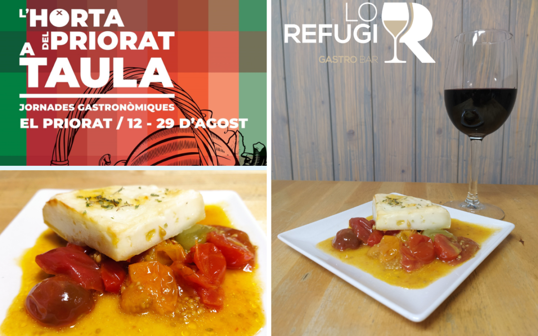 """Jornades gastronòmiques """"L'Horta del Priorat a taula"""""""